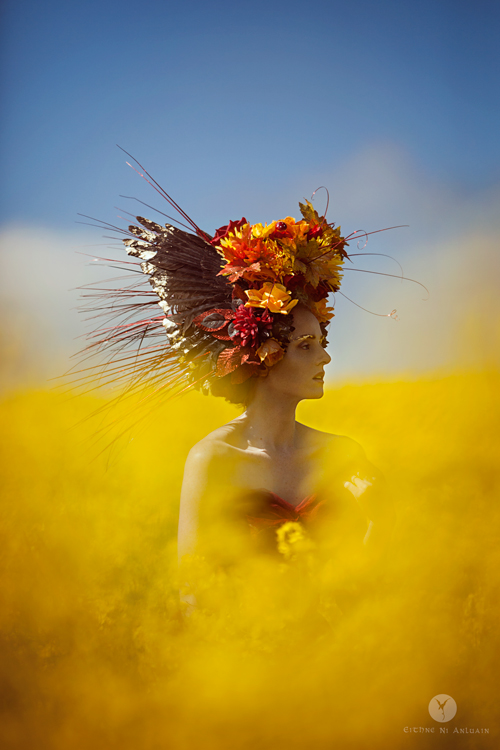 fantasy, photography, headdress